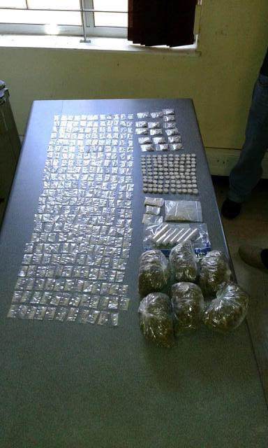 Large quantity of drugs confiscated by Grassy Park SAPS members