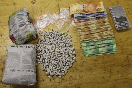 Drugs confiscated and arrests made in Hanover Park