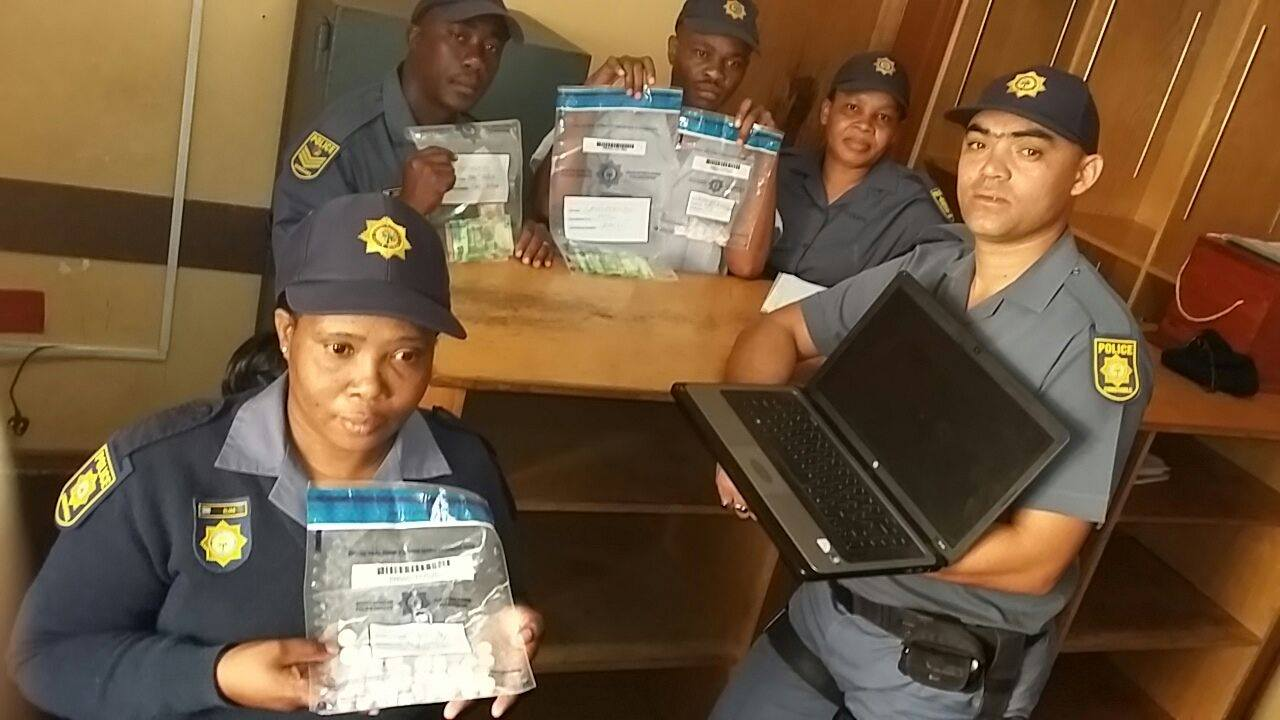 Kimberley police makes drug arrests while conducting vigilant patrols
