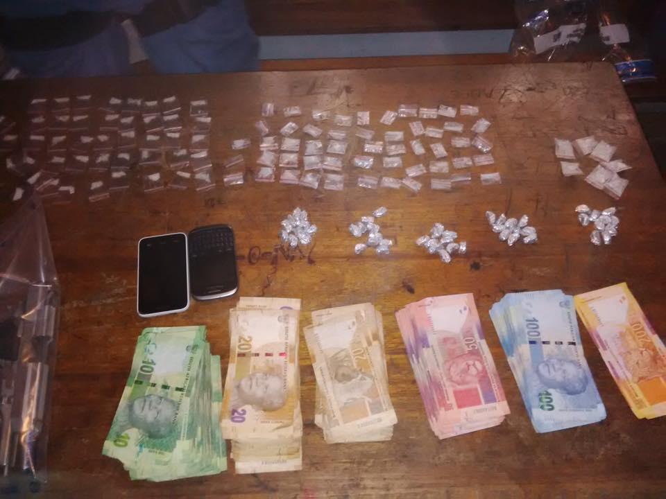 Police in Ravensmead makes drug arrest