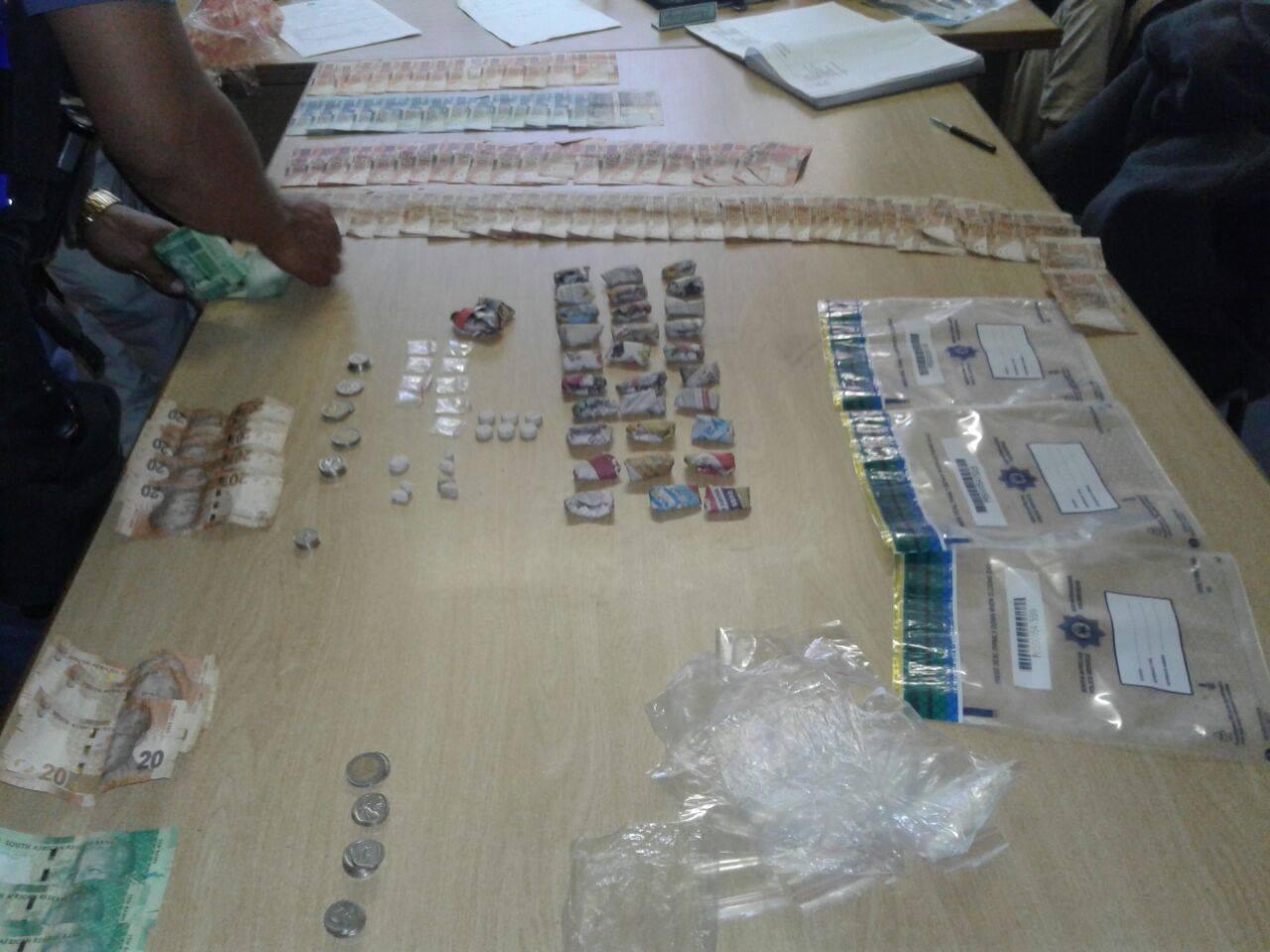 Drug dealing suspects arrested in the Bethelsdorp area
