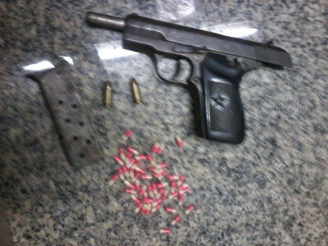 Drug and weapons arrest made in Foloweni