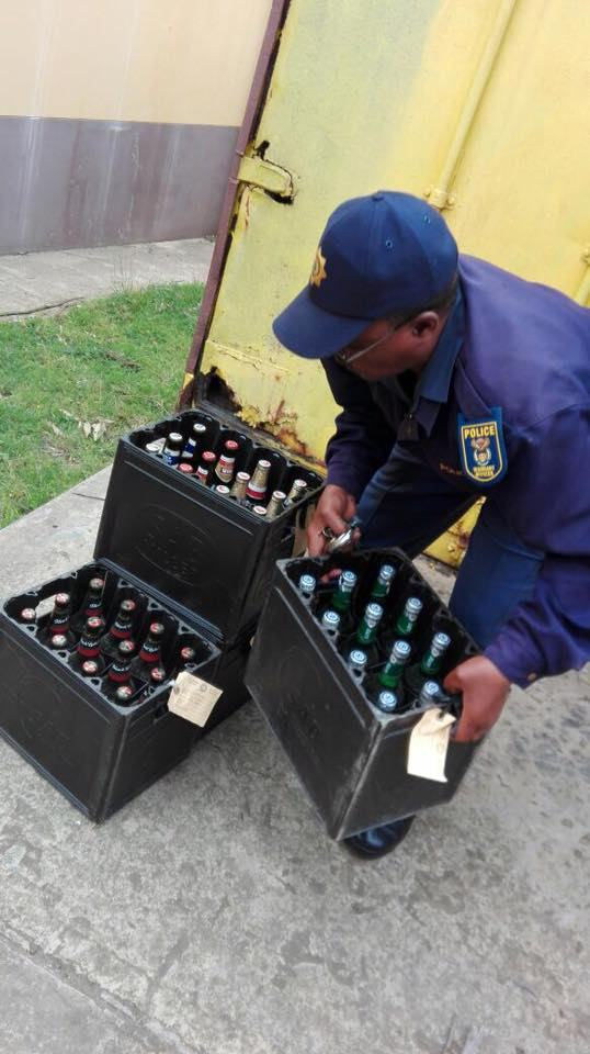 Illegals liquor outlets closed, weapons seized in Lusikisiki