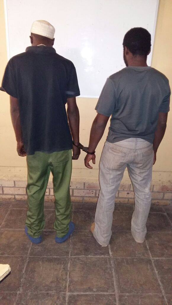Suspects arrested by Kagisho police for possession and dealing in drugs.