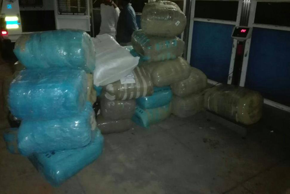 Two suspects arrested with 580kg Dagga in Paarl