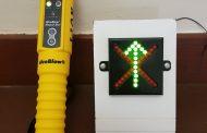 ALCO-Safe handheld breathalyser test goes wireless.