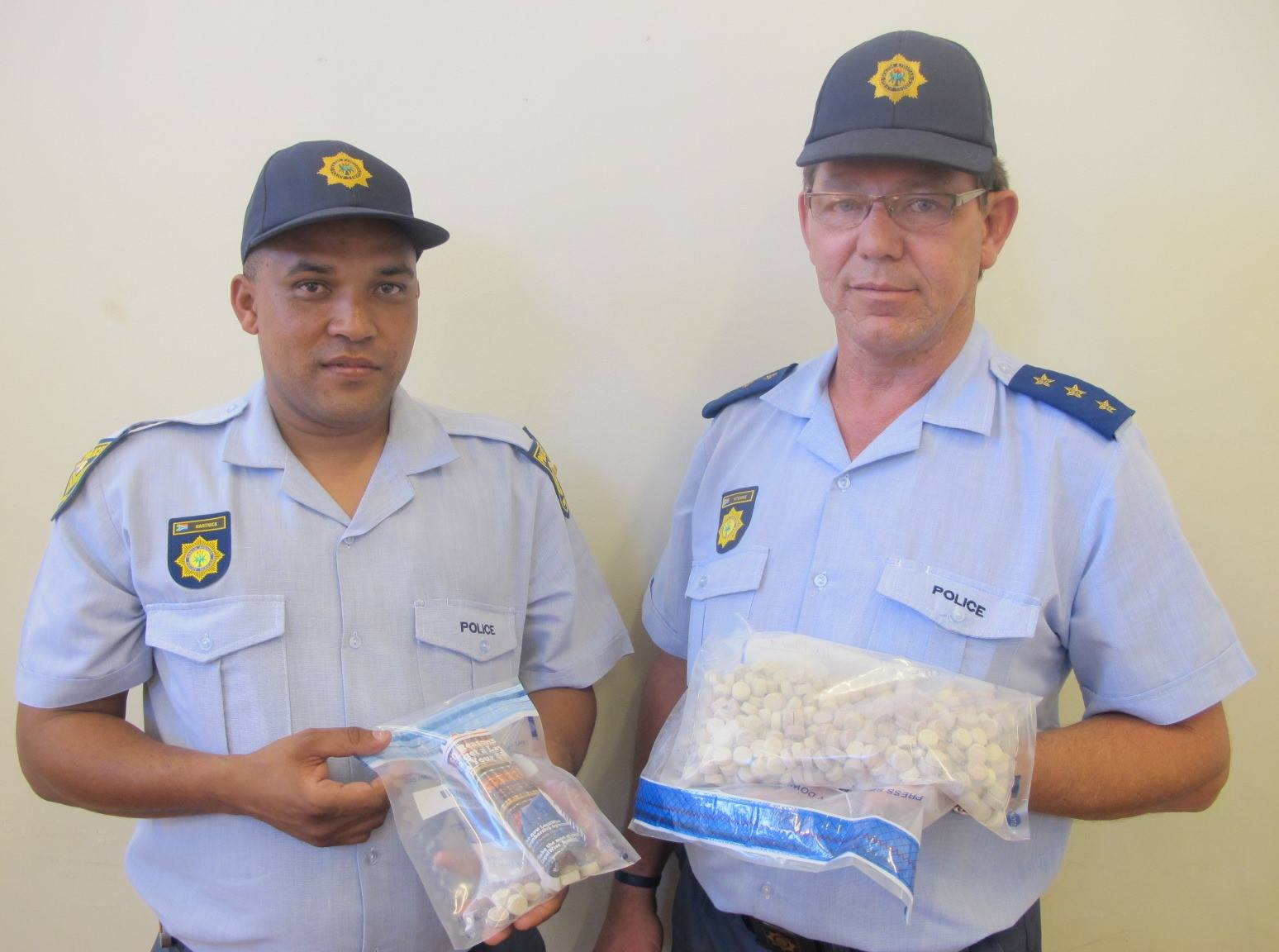 Drugs with an estimated value of R71 000 confiscated in Knysna.